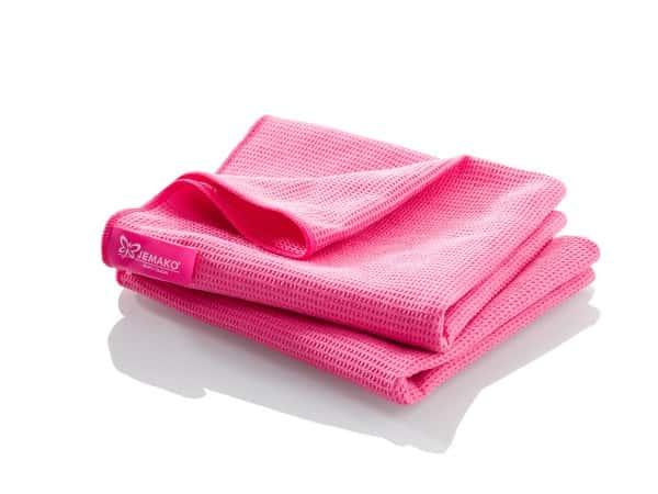 Trockentuch groß (45 x 80 cm) Doppelpack - pink