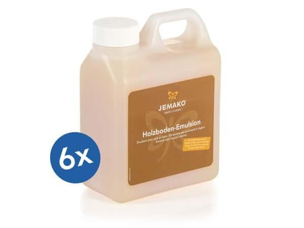 JEMAKO® Holzboden-Emulsion - 6 x 1 l