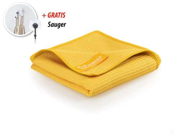 JEMAKO® Trockentuch groß (45 x 80 cm) - gelb