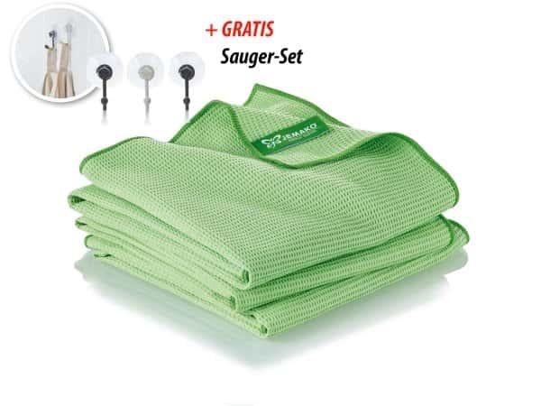 Jemako_Trockentuch_groß_45 x 80 cm_grün_TrioPack