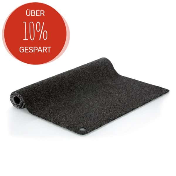 JEMAKO® Fußmatte schwarz - L (122 x 79 cm)