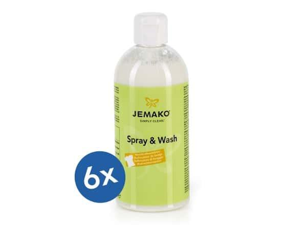 JEMAKO® Spray & Wash - 6 x 500 ml